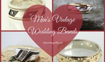 Mens Vintage Wedding Bands
