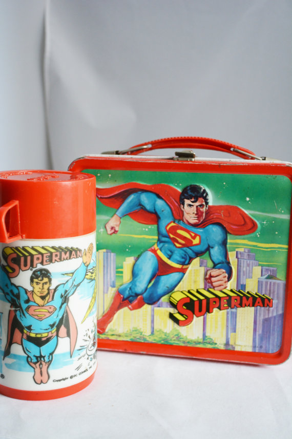 Vintage Lunch Boxes 1970s - 1980s